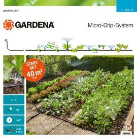 GARDENA Micro-Drip-System Starterset Pflanzflächen