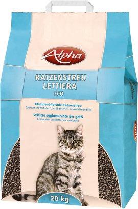 ALPHA Katzenstreu Eco 20 kg
