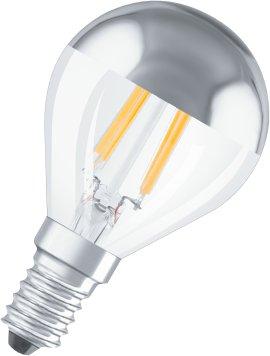 OSRAM LED-Tropfen STAR CLP  silver  E27 4W