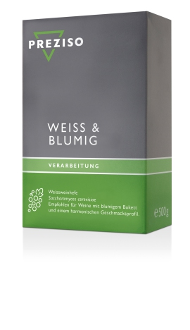 PREZISO Weissweinhefe Weiss & Blumig - 500g