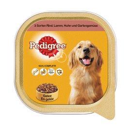 PEDIGREE Hundenahrung Dose Rind, Lamm, Huhn und Gartengemüse 10x300 g