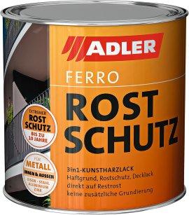 ADLER Ferro Rostschutz Weißaluminium 750 ml