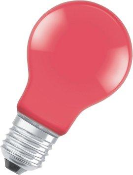 OSRAM LED-Birne STAR CLA DEC-rot E27 2,5W