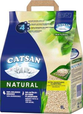 CATSAN Natural Klump-Streu 8 l