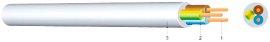 Schlauchleitung H05VV-F, 5-adrig