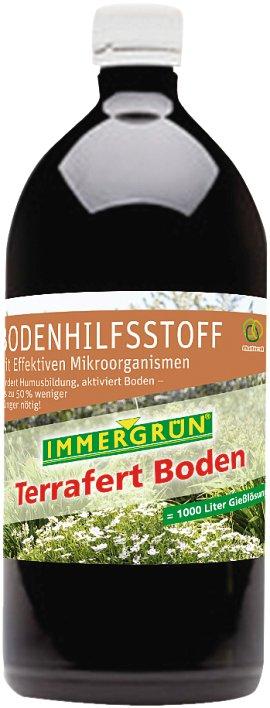 IMMERGRÜN Bio Effektive Mikroorganismen Terrafert Boden 500 ml