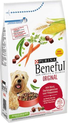 BENEFUL Hundenahrung Rind und Gemüse