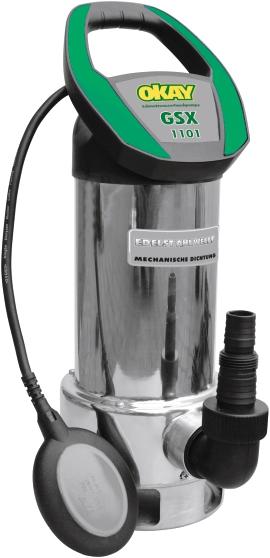 OKAY Schmutzwassertauchpumpe GSX 1101